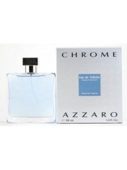 AZZARO CHROME  By AZZARO 3.4 oz Eau de Toilette Spray for Men