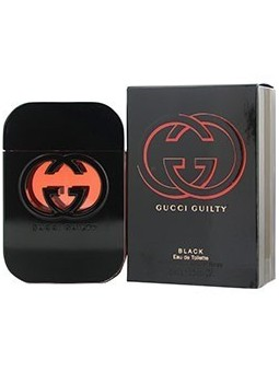 GUICCI Guilty  Black by GUCCI edt spray 2.5 oz  for Women