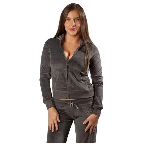 Juicy Couture BORN IN LOS ANGELES WT/CROWN  Heather Gray