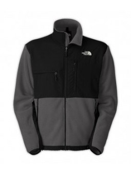 The North Face Men's Denali Fleece Jacket GRAY/BLACK