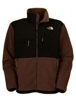 The North Face Men's Denali Fleece Jacket Brown