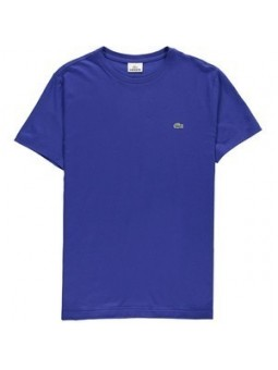 Lacoste Men's Pima Jersey Crew-Neck T-Shirt  Royal