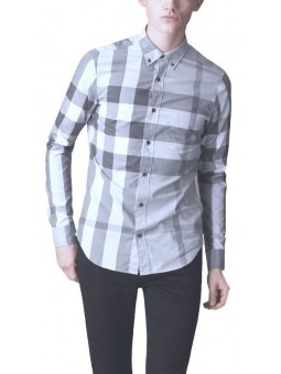 Burberry Britt  Men's  Long Sleeve Stripe Shirt