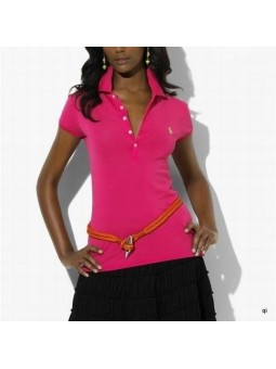 Ralph Lauren Skinny Fit Stretch Mesh Polo Shirt