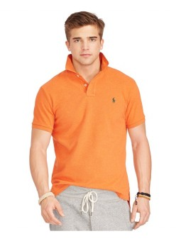 Polo Ralph Lauren Classic-Fit Mesh Polo  Orange