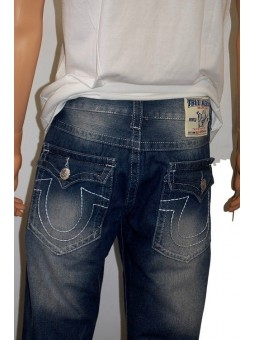 True Religion Ricky Super T Straight Leg Blue