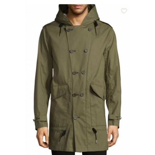 Burberry Elliot Bonded Cotton Parka