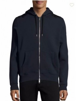 Burberry Jersey Hooded Jacket