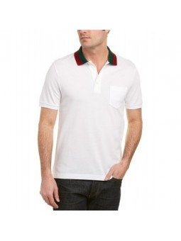 GUCCI Men's Polo Shirt White