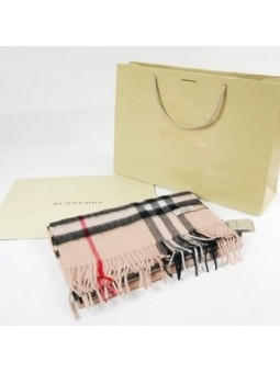 Burberry Exploded Giant Check Cashmere Scarf-Carmel