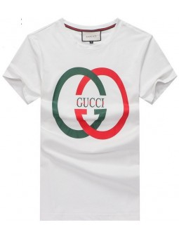 GUCCI  Circle Logo Cotton T Shirt CLOSEOUT