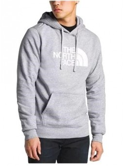 The North Face Half Dome Pullover Hoodie Gray