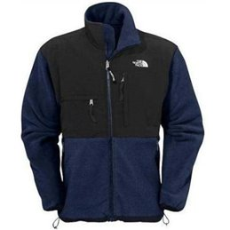 The North Face Men's Denali Fleece Jacket NAVY/BLACK