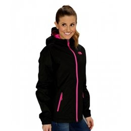 The North Face Women's Denali Hoodie Fleece Jacket Black
