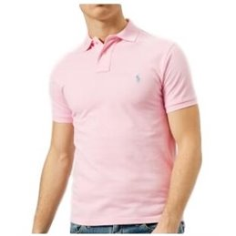 Polo Ralph Lauren  Men's Classic-Fit  Polo Shirt Pink