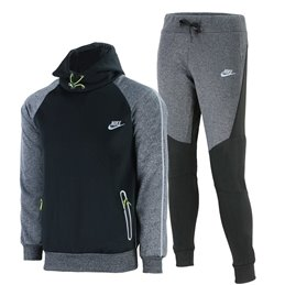 Nike Tech Men's Knit Joggers Gray