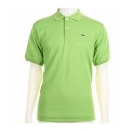 Lacoste Pique Polo Lime Green